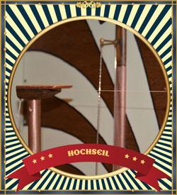 Flohzirkus Royal - Hochseilakt