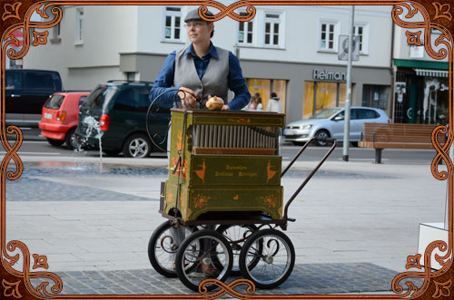 Drehorgelspieler Hessen